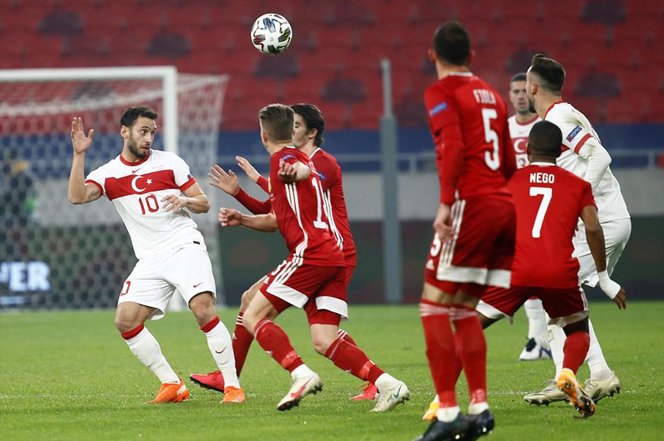🇹🇷 A Milli Takımımız, UEFA Uluslar Ligi'nde Macaristan'a 2-0 mağlup olarak C Ligi'ne düştü.  ⚽ 57' David Siger ⚽ 90+5' Kevin Varga  🇭🇺 Macaristan, grubu lider bitirerek A Ligi'ne yükseldi. https://t.co/PdN6SMxyFA
