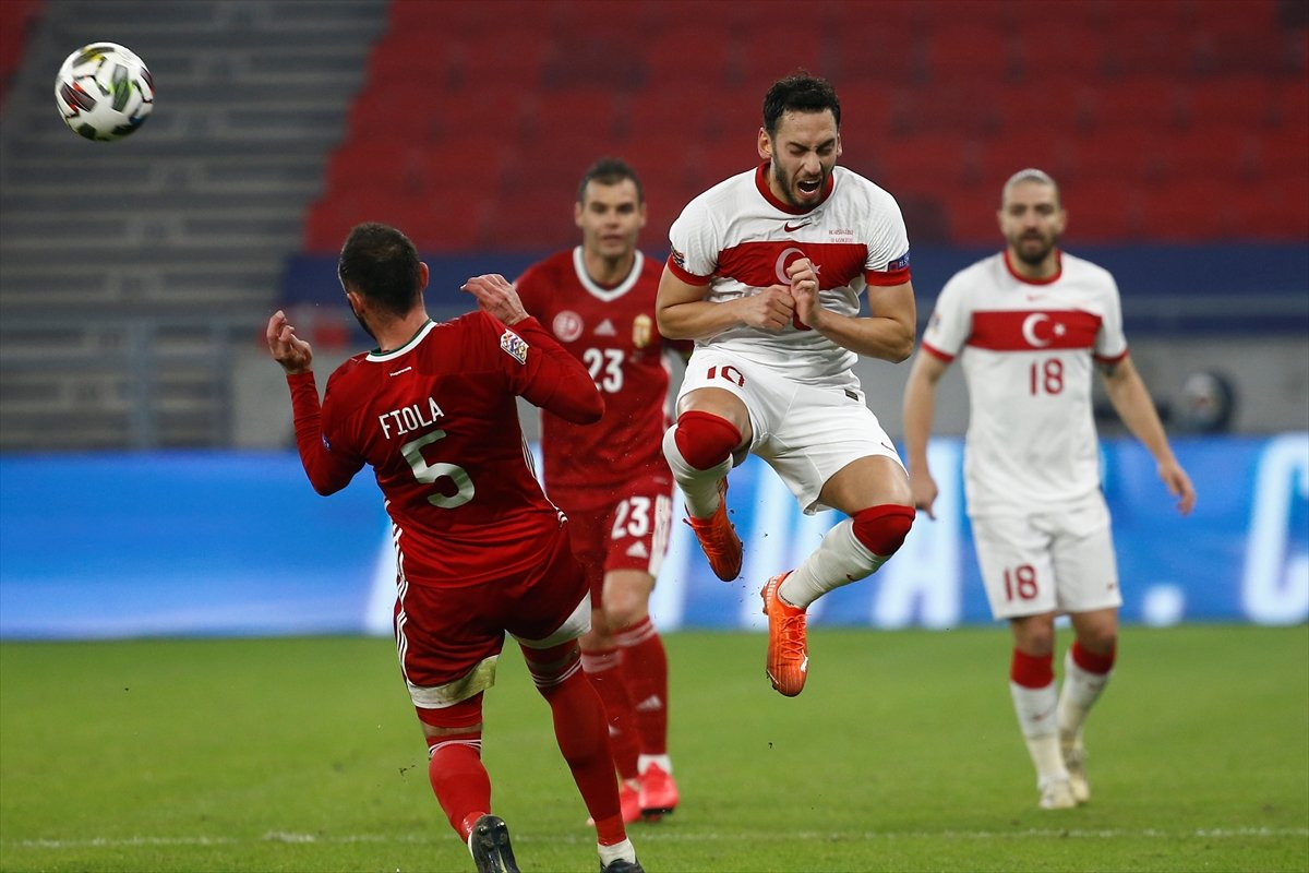🚨KÜME DÜŞTÜK!  UEFA Uluslar Ligi grup maçında A Milli Takımımız, Macaristan'a 2-0 mağlup oldu ve C Ligi'ne düştü.  ⚽️ 57' David Siger ⚽️ 90+5' Varga https://t.co/FPs1nwX4Vd