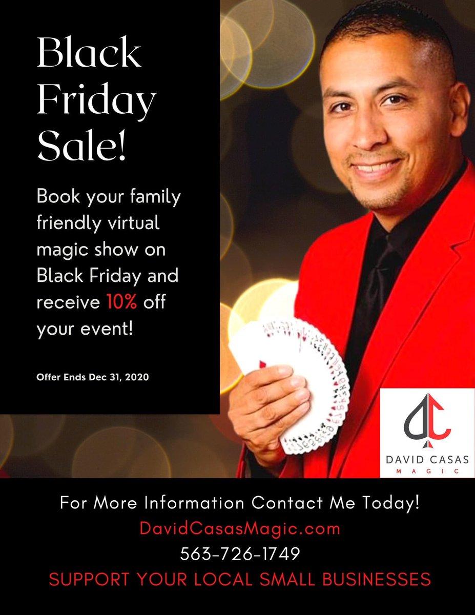 Black Friday Deal! @casas_jimmy @erikjpost @MusserLibrary