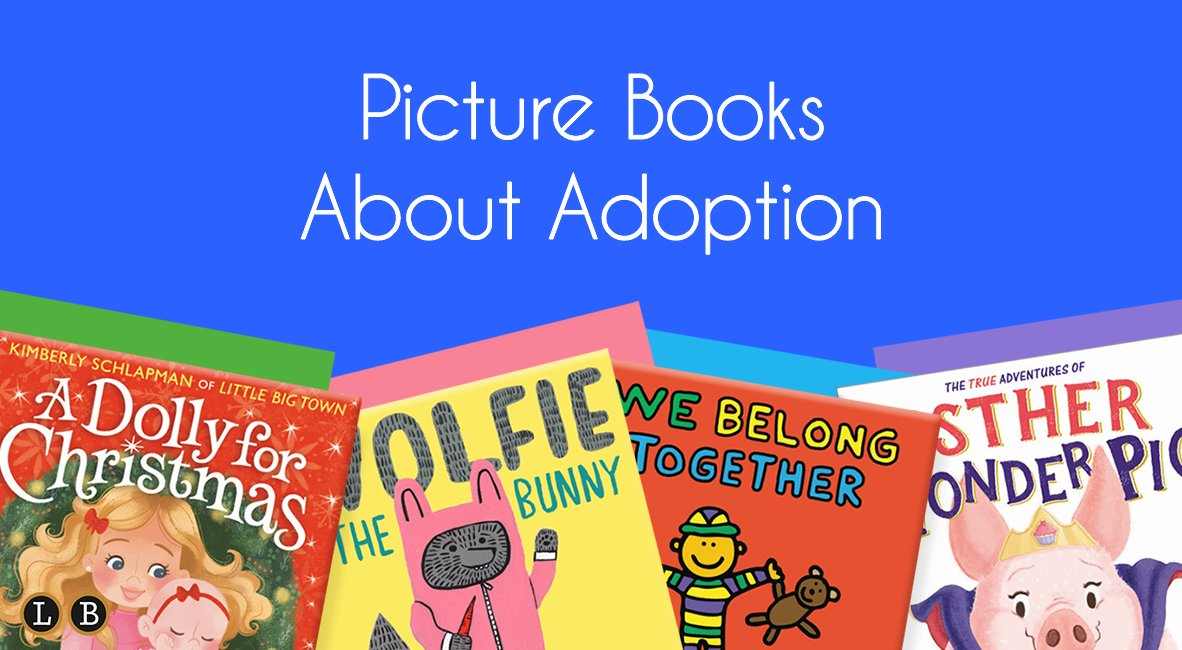 Adoption plays an important role in many families' stories. Check out Shanese's new blog post about heartwarming picture books featuring this topic! ❤️  🔗:
