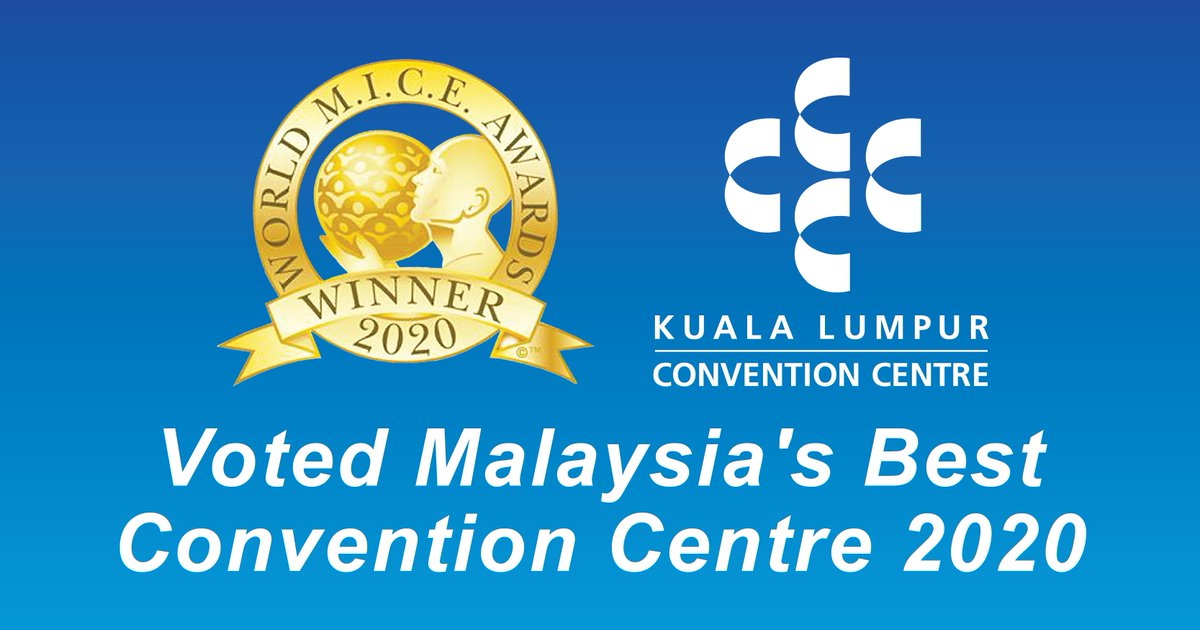 We are voted MALAYSIA'S BEST CONVENTION CENTRE 2020 by the World Meetings, Incentive, Conference and Exhibition (MICE) Awards .  This award seeks to elevate the standards of the business events industry by recognising organisations that are the leaders in their industry! https://t.co/fRCYK8ylgp
