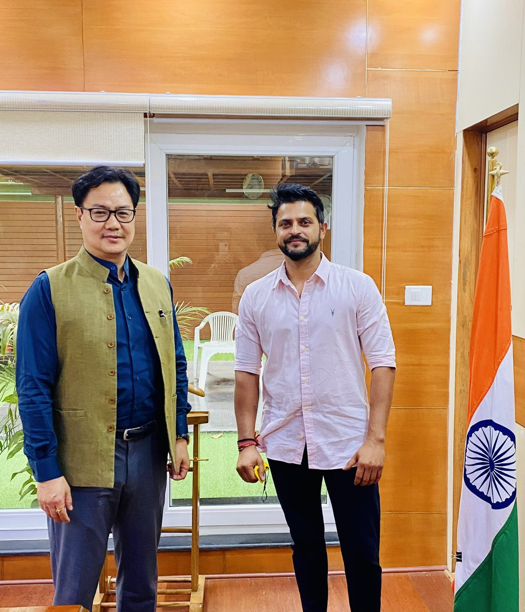 Wishing you a very happy birthday sir @KirenRijiju. May you be blessed with best of health always. Wishing you lots of success in all your endeavours & progressing vision of the country.