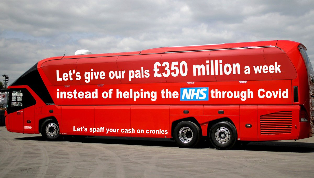 Good to see the Tories have a new bus.