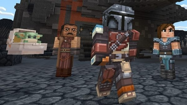 #Geek 🧐 Awesome of the Day: New #Steampunk-ish ⚙️ #StarWars-themed #DLC #TheMandalorian for #Minecraft #Videogame via @FMyth_Gaming #SamaGames 🎮 #SamaGeek