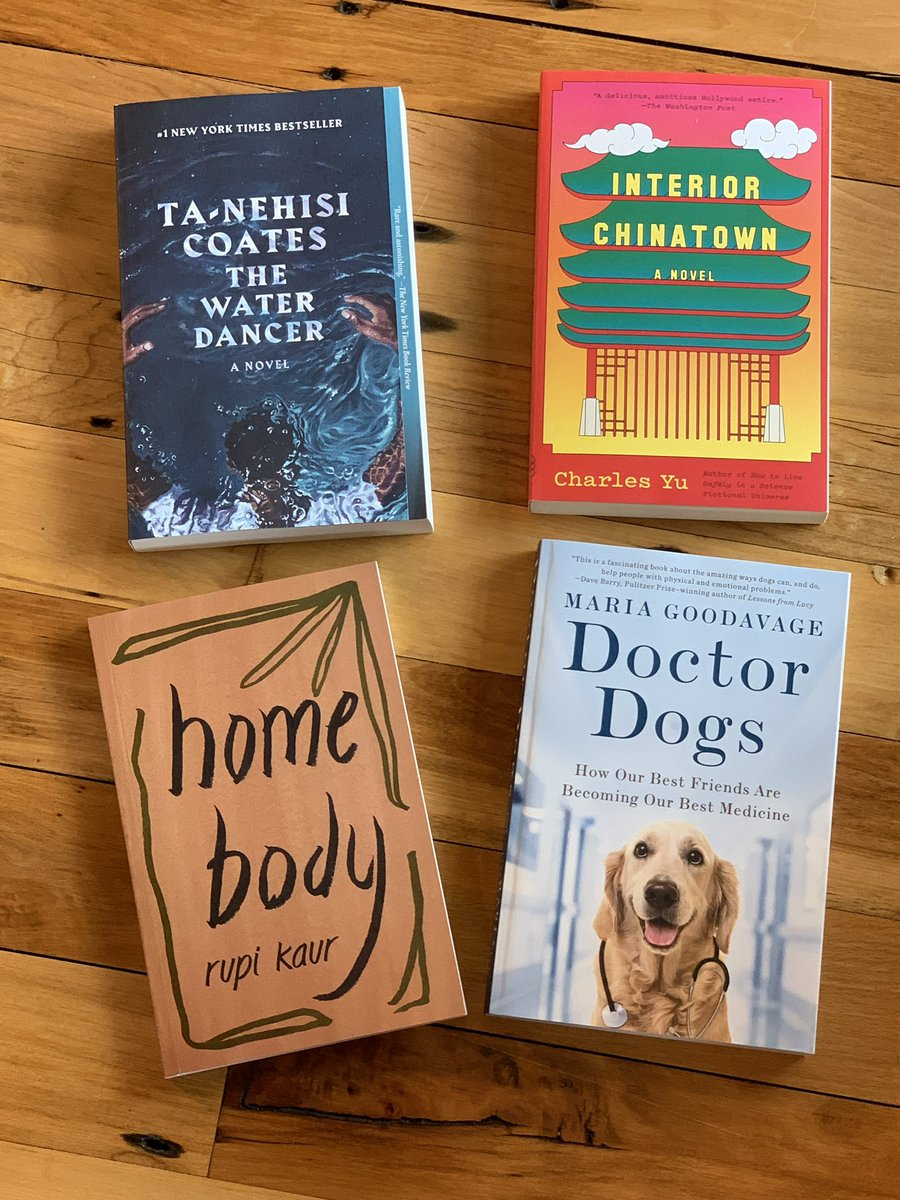 New this week in #paperback! A #doggo truly is the best medicine. 🐶