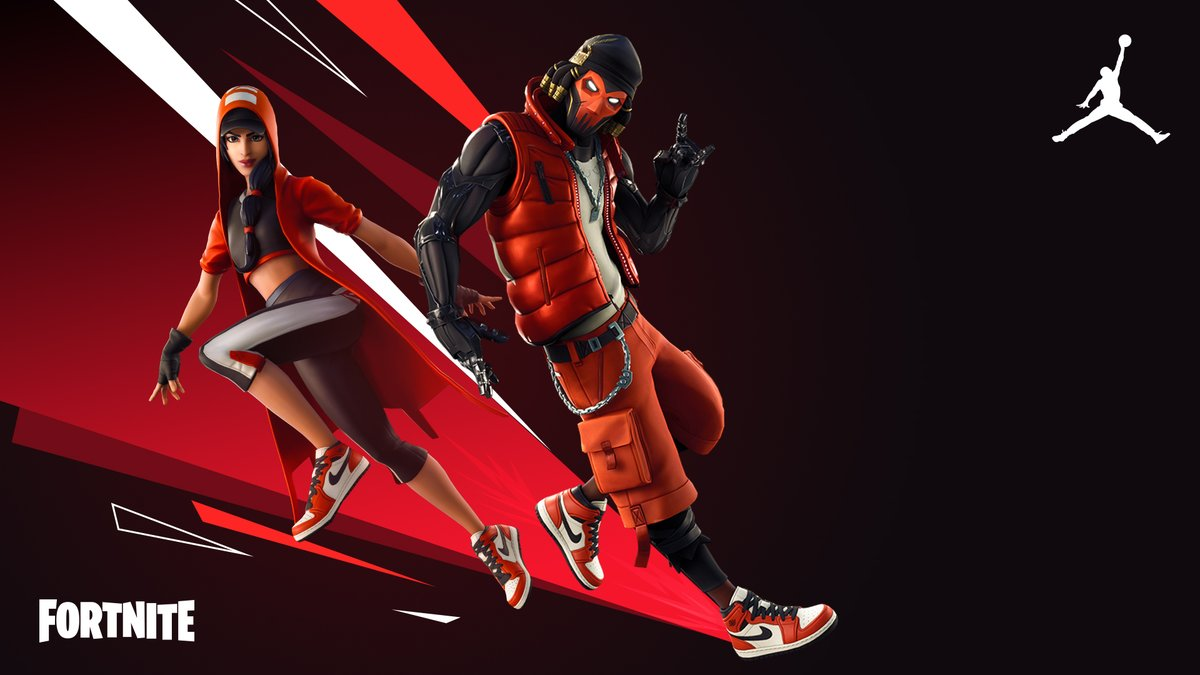 Put on stellar kicks and get ready to clutch under pressure.  Grab the Hang Time Bundle in the Item Shop now!  Want real life kicks? Shop the latest AJ1 from Jordan Brand on SNKRS: