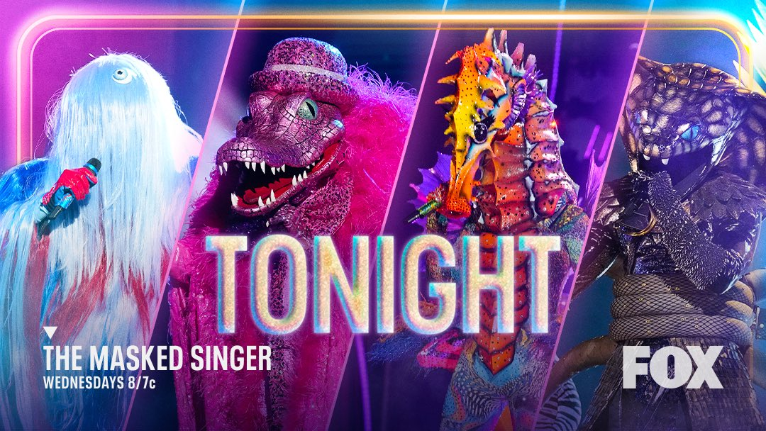 Double excited for this double unmasking tonight!! #TheMaskedSinger who's gonna watch with me??