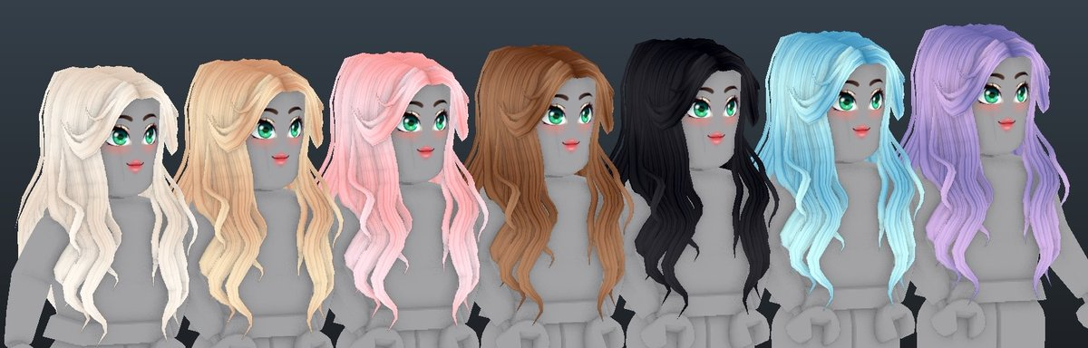 Erythia - So I altered a few of my current hair colors! The blonde is now more of a reddish tint rather than yellow, and I gave a bit more depth to my pink blue and lavender hair colors! I'm thinking I wanna add a few ombres so if you have any ideas drop some pics in the comments