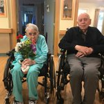 Wishing a Very Happy 65th Wedding Anniversary to our Haven House residents, Gordon & Irene! It was a lovely celebration today! #HappyAnniversary #loverules #forbetterretirementliving #augustinehouse