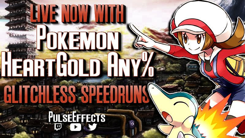 PulseEffects - 🔴 LIVE NOW:   I've worked my ass off for this Raikou chart and I'm dying to use it.  Let's put it to good use with some Pokemon Soul Silver speedruns!