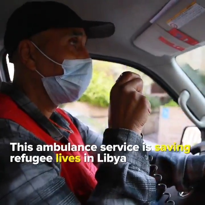 From providing maternal care to treating victims of road accidents, this emergency service supported by @UNHCRLibya continues to give vital medical support to refugees in need. 🤝