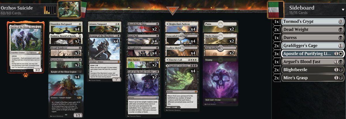 Andrea Mengucci A Twitter I Love Orzhov Manabase So Much In Historic Today I M Trying Scourge Of The Skycleave Adanto Vanguard Combo Live At Https T Co 86ikczox37 Decklist Https T Co 1eu552jnin Https T Co Qyxbzyjzog Bit.ly/orzhov_knights throne of eldraine gives knights more support than the tribe has ever had, and unpacking a magic the gathering ravnica allegiance orzhov (white / black) guild kit. twitter