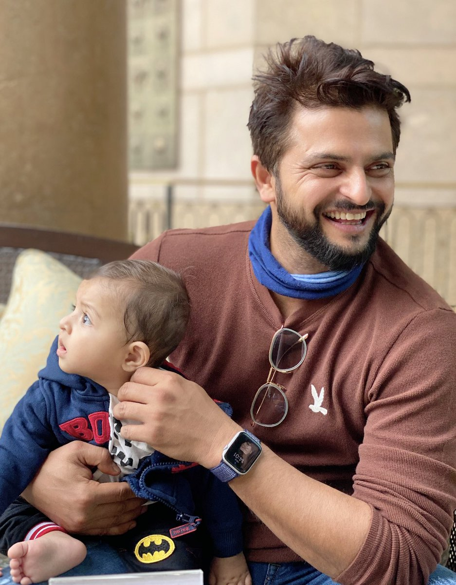 Role of men in our society has become more crucial then ever to ensure an equal world for men & women. So here is to the man of my life, the pride of the nation, best son, perfect husband & an amazing father. #HappyInternationalMensDay You fit in every role so perfectly @ImRaina.