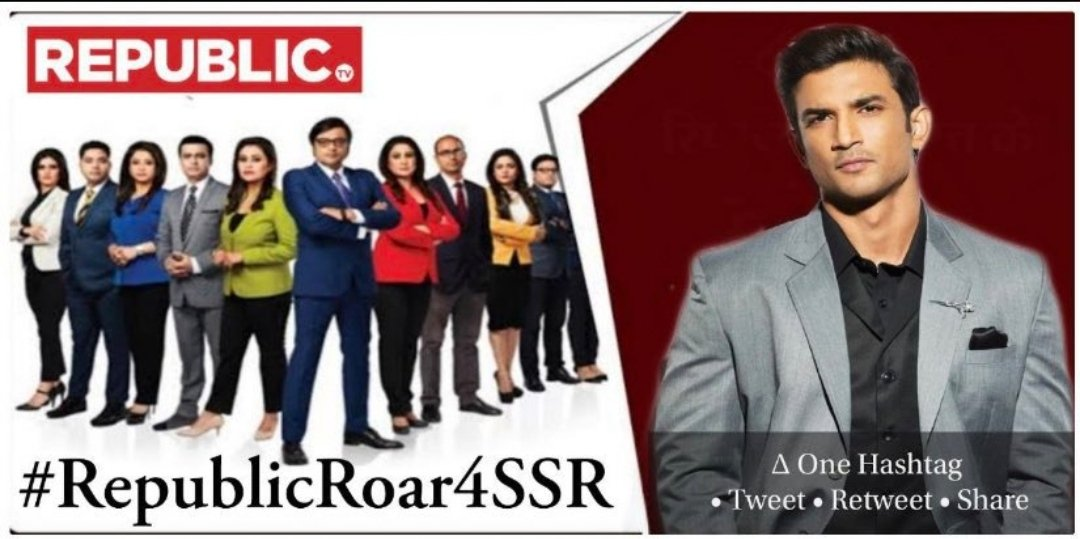 World Wants To See Same Anger in Arnab, What He Shown on 11.11.2020 #ArnabIsBack with Loud and Clear GAME IS JUST BEGUN.   This not the fight for individual, it's a Global Campaign for Justice Fight and For Sushant.   #RepublicIsUnbeatable