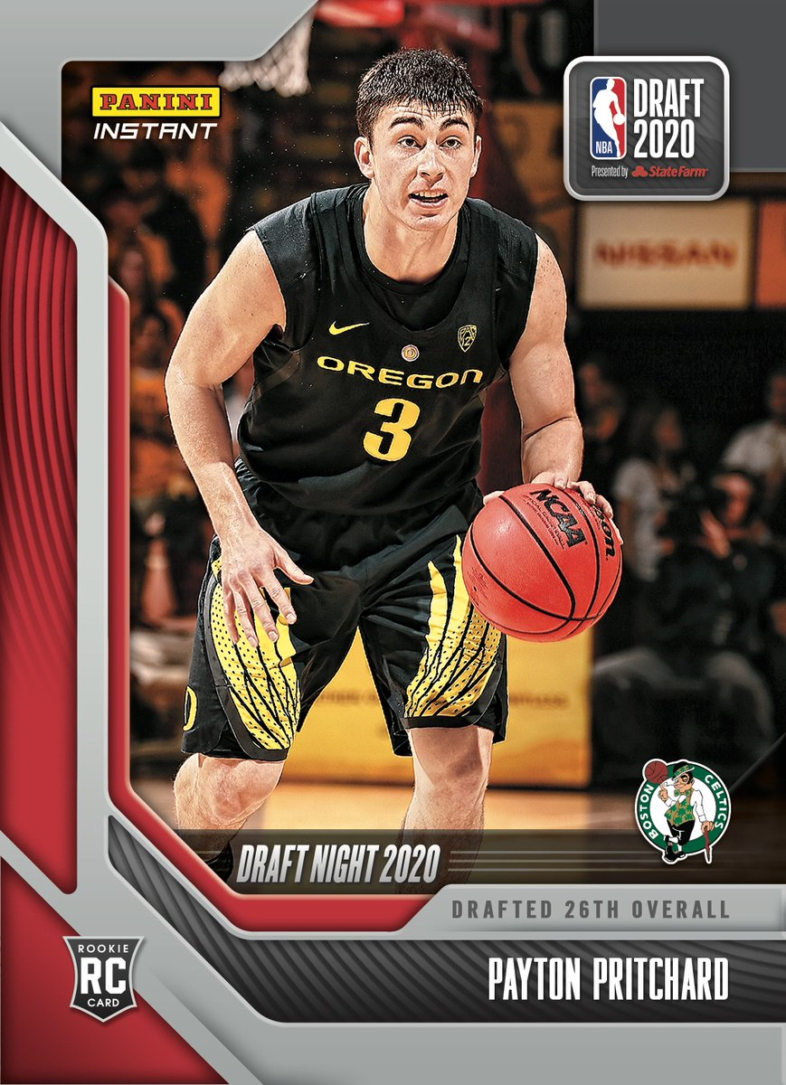 Welcome to the pros, @fastpp3. Boston is ready for you! @Celtics fans, head over to his #NBADraft Night Rookie Card available now from #PaniniInstant.   #RatedRookie | #NBA   https://t.co/7vvHmzfkFi https://t.co/ItWHW5lFLj