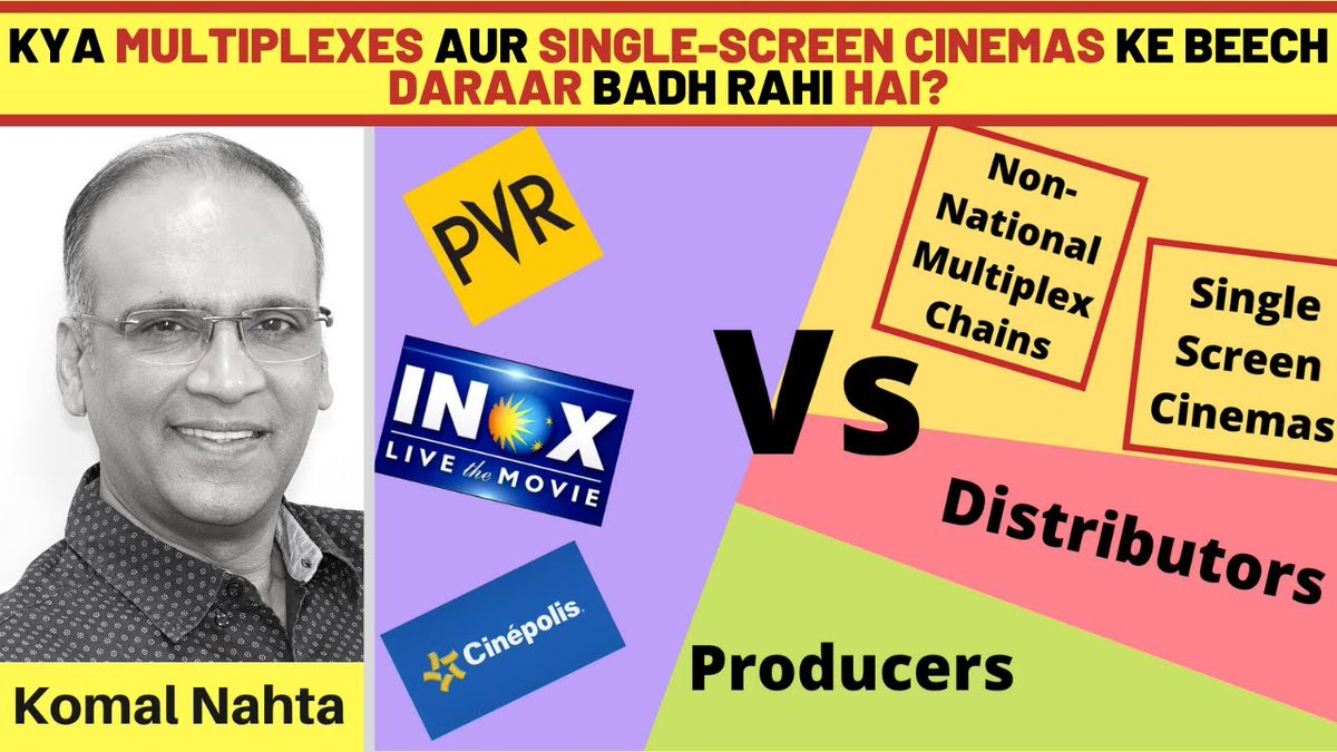 Both are cinemas, yet multiplexes think very differently from single-screen cinemas. Can this lead to a divide in the film exhibition sector? Click the link below to get the absolutely andar ki baat! 📽️🔗👉