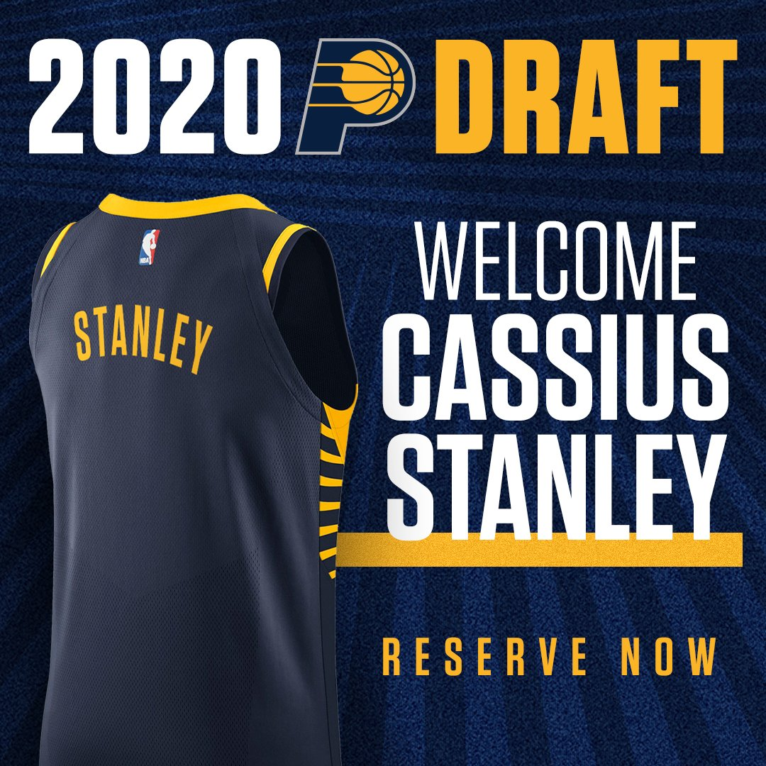 Welcome to Indiana, @cassius_stanley!  Reserve Jersey: https://t.co/sFFi4blRBA https://t.co/thQUQIaKwa