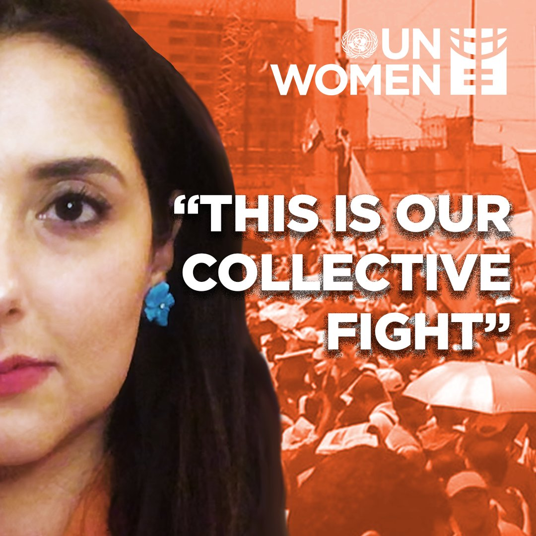 Each one of us can make a difference in the fight to end violence against women. #GenerationEquality