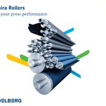 Image for the Tweet beginning: Saphira press rollers are the