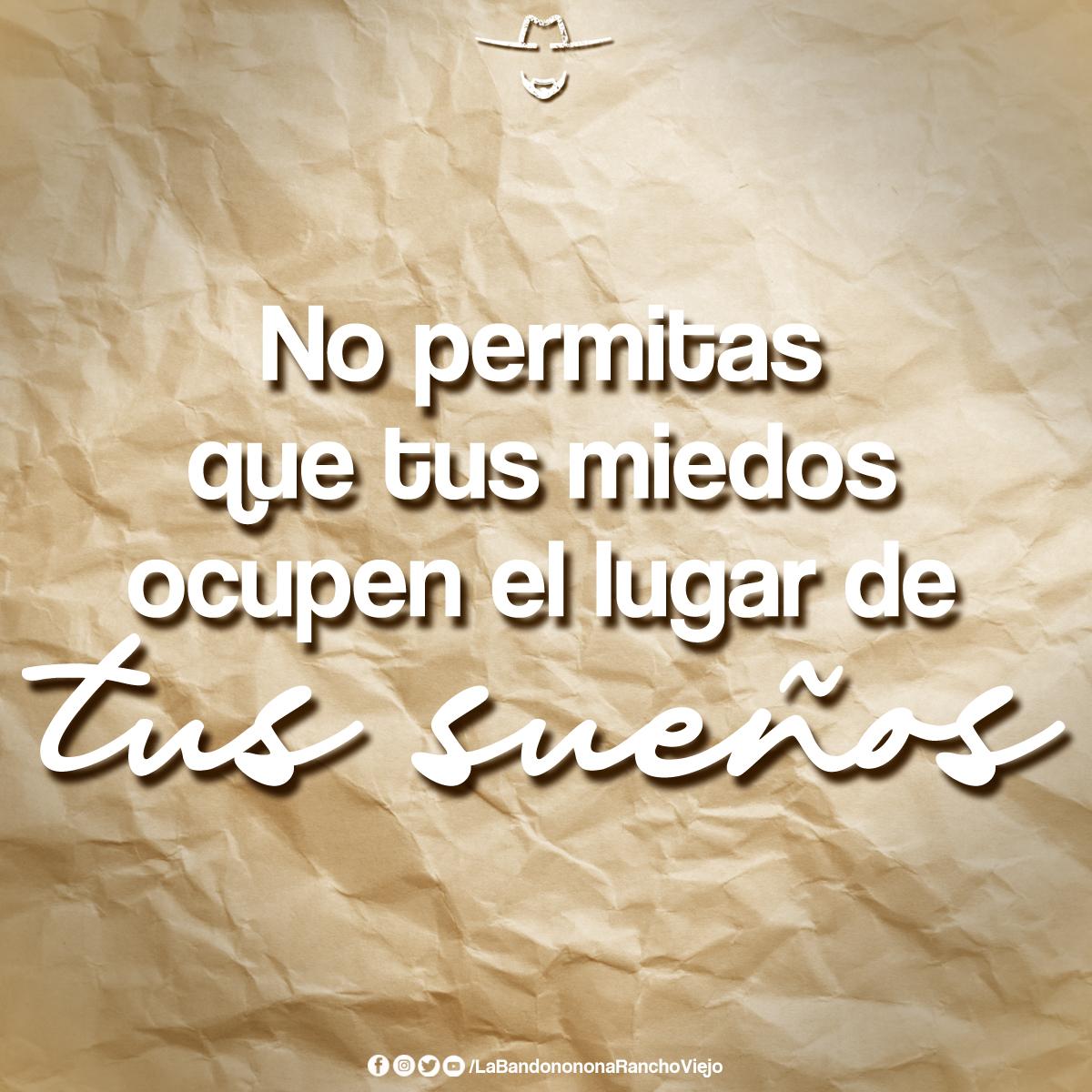 Que tus sueños sean más GRANDES🙏🤠 Síguenos👉 @B_RanchoViejo  #BuenosDias #QueLeHace #LaBandononona https://t.co/o3jEN0OBiu