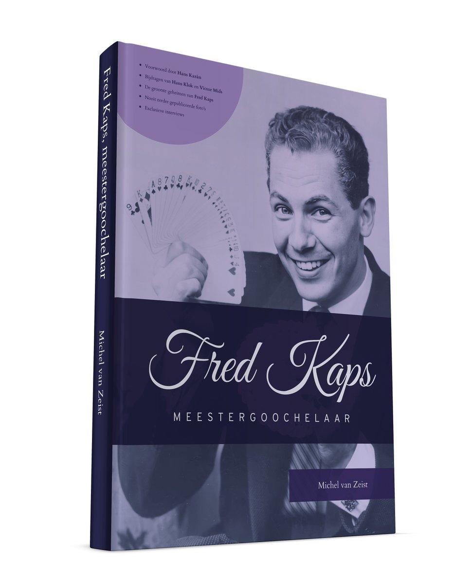Vandaag in '@tijdvoormax' om 17.10 uur op @NPO1: @kazanhans (vanuit Spanje), @BarrySchatz en ik vertellen over Fred Kaps en het boek dat ik over deze meestergoochelaar schreef. https://t.co/a83I6EFbXg