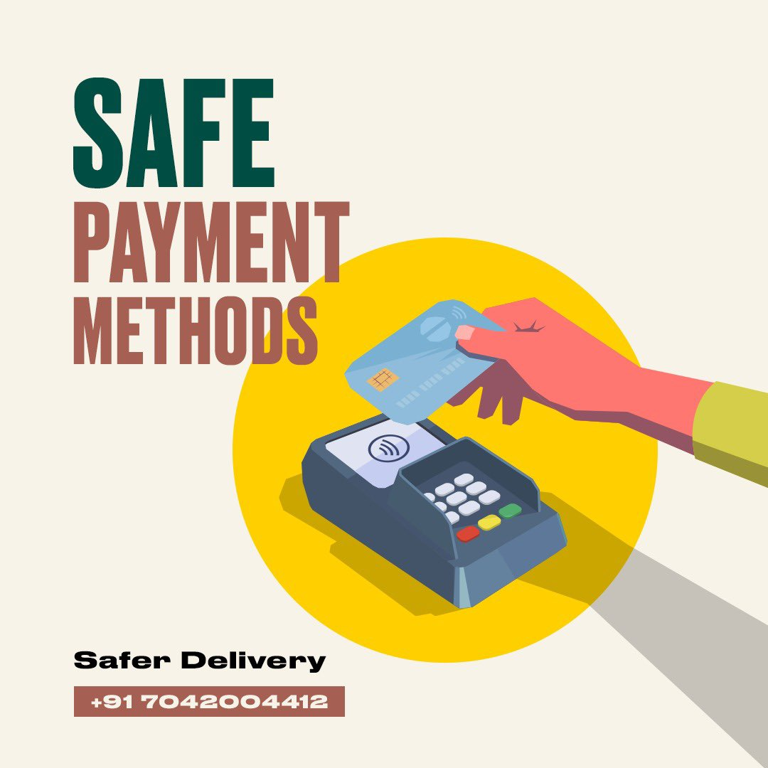 Ring us at +917042004412 to place an order and we'll bring the #SafeSpace experience to your doorstep. With contactless payment options, our home delivery service is super safe! Call us Mon-Sun from 10 AM to 5 PM. Can't wait to hear from you! #TBSInd #HomeDelivery #SafeSpace