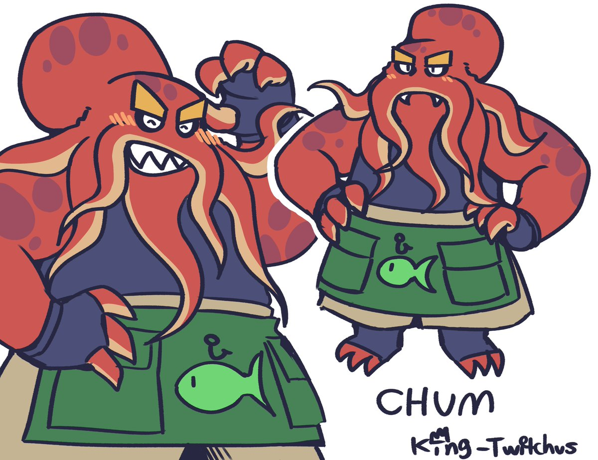 new dude just dropped. his name is chum and hes a fisherman :)