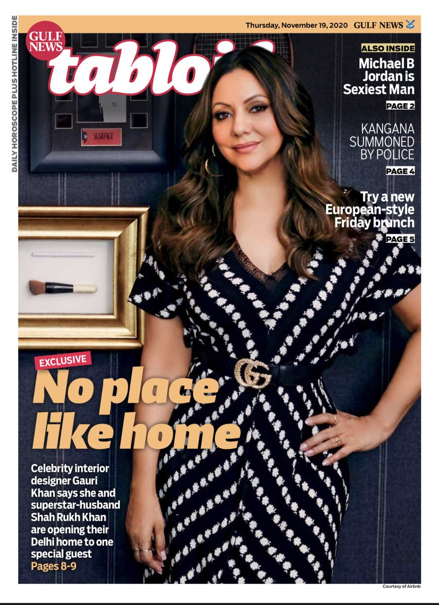 Guess who is playing hostess the mostess soon! ⁦@gaurikhan⁩ and ⁦@iamsrk⁩ is opening their Delhi home to a lucky couple. Read my interview to know how you can be the chosen ones: