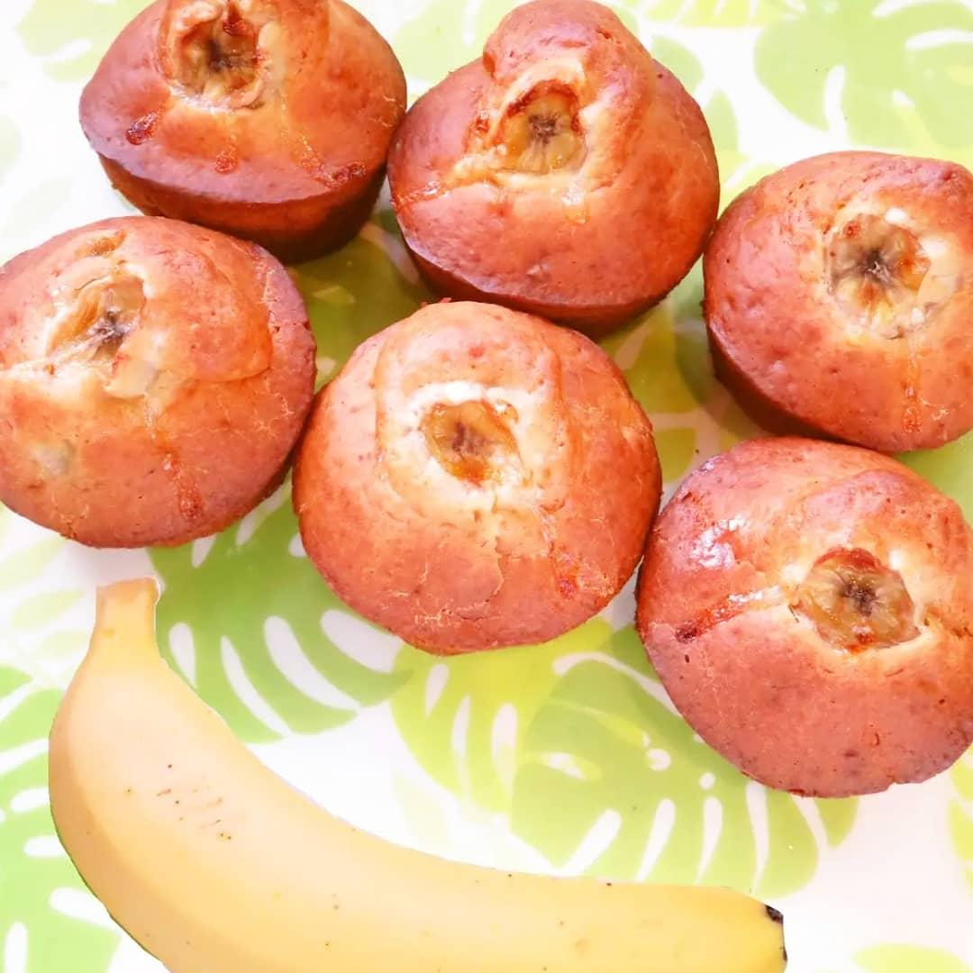 クックパッドで公開している私のレシピをご紹介♪☺HMで簡単おやつ♪バナナマフィン☺ by hirokoh ホットケーキミックスを使って作る簡単おやつです🍌#料理好きな人と繋がりたい#Twitter家庭料理部 #お腹ペコリン部#おうちごはん #クックパッド#cookpad #YouTube