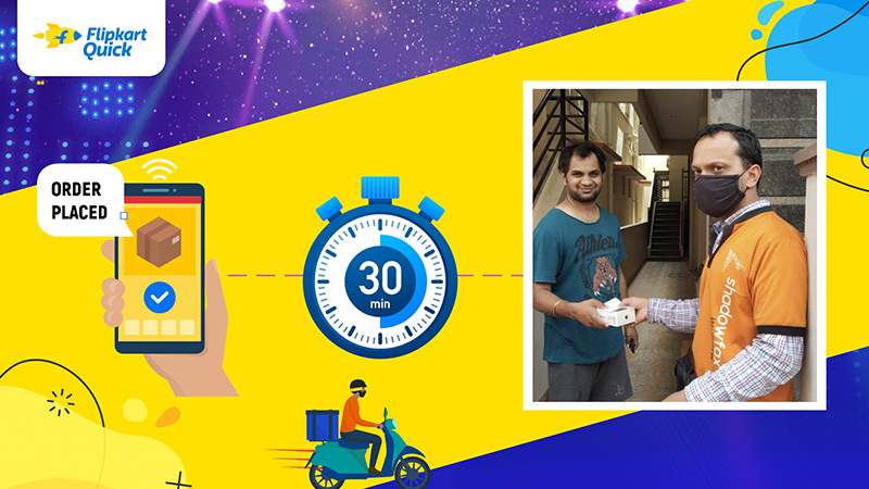 A #FlipkartQuick delivery is promised in 90 minutes. But when these customers placed their orders during #TheBigBillionDays, they received their new phones within a fraction of that time! Read about the festive season's lightning fast deliveries:  @Flipkart