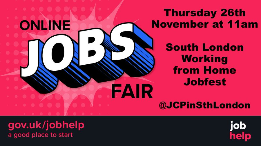 South London Jobfest Poster