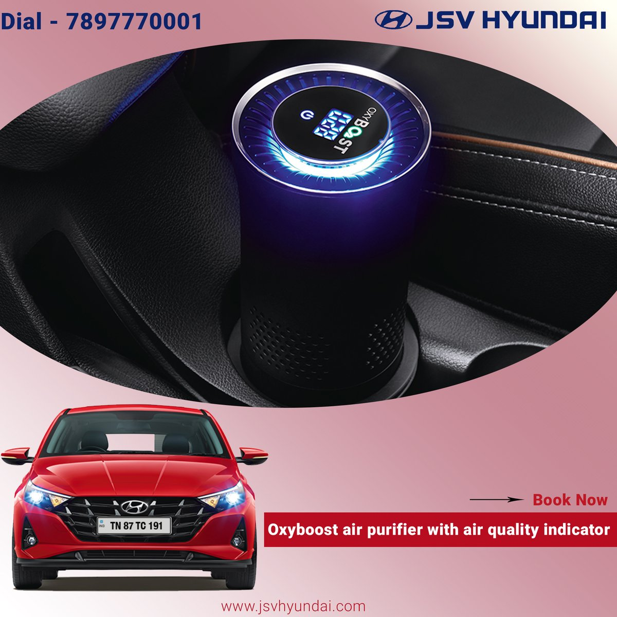 Breathe in fresh air through the air purifier as you cruise along. Air purifier maintains healthy environment inside cabin  #TheAllNewi20 #HappyNavratri #Lucknow #HyundaiCares #JSVHyundaiShowroom #Grandi10NIOS #Elitei20 #NewCreta2020 #Automobile #Venue #HyundaiVenue https://t.co/bxRztUUxHH