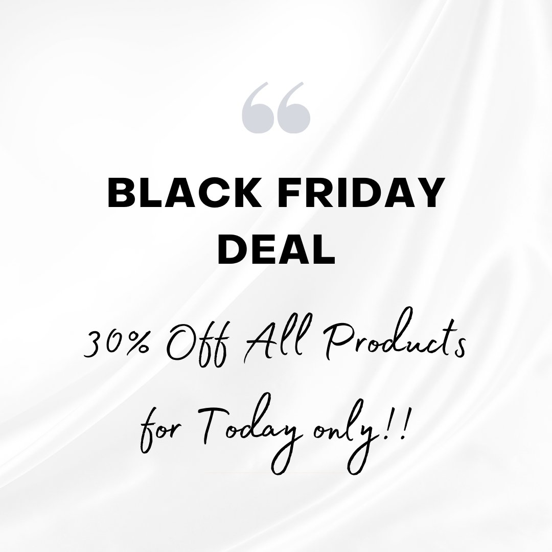 📢 ❗️Black Friday Sale Is HERE ❗️ 📢 . For TODAY ONLY you can buy all your favourites or want to try out products at the Salon and receive a massive 30% off on ALL PRODUCTS!! 💋 #blackfridaysouthafrica #benoni #lamelle #babor #fleurdelavie