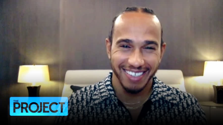 Formula One champ @LewisHamilton took a pit stop at The Project to talk about his need for speed and why he's become a driving force in the battle to show racism the chequered flag.    #TheProjectTV
