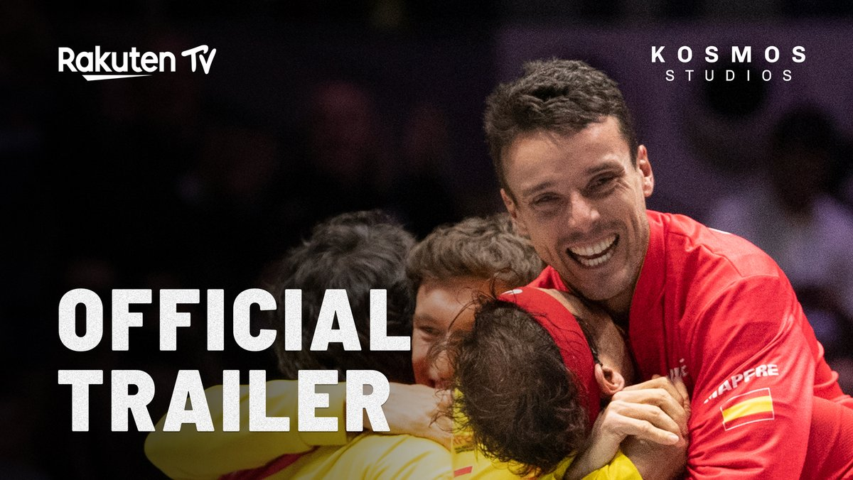 "TRAILER | ""Break Point: a Davis Cup Story""  The co-production between @Rakutentv and @KosmosStudios will be premiered on November 26th 🍿  Free on @Rakutentv 📺"
