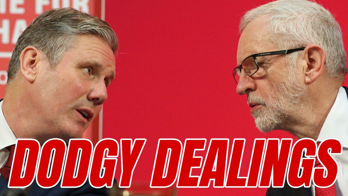 Starmer's Allies Negotiated Secret Deal to Readmit Corbyn https://t.co/H9uzxjKb3j https://t.co/FI81mU2cMG