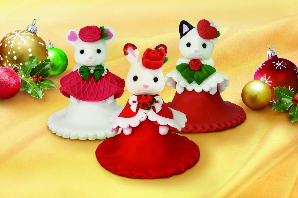 食べられる……だと……!?これ本当にケーキ!? シルバニアファミリー×自由が丘スイーツフォレストのクリスマスケーキがすごかわいい