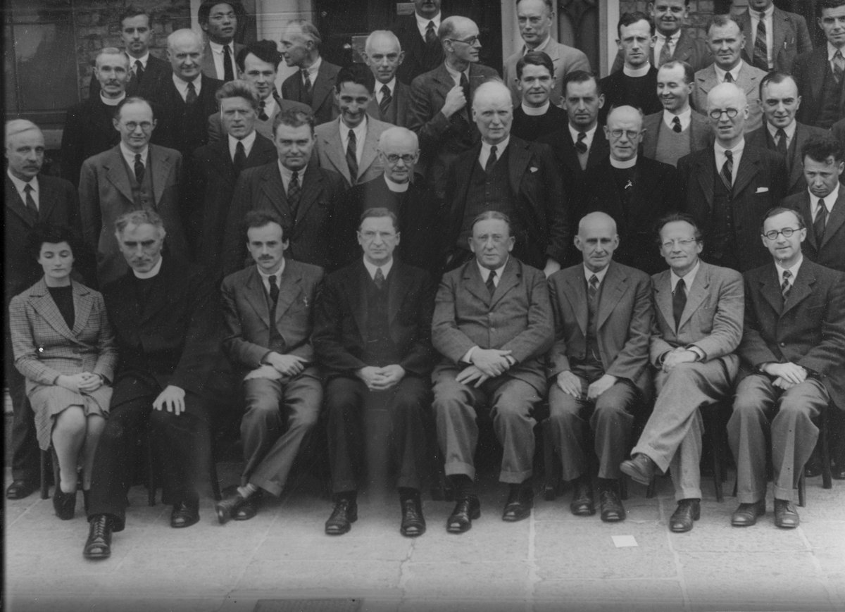 test Twitter Media - #OTD in 1903 long serving @StpDias Board member Professor Albert Joseph McConnell was born. Coincidently also #OTD in 1938 McConnell attended a luncheon hosted by then Taoiseach Eamon DeValera in @LeinsterHouse with Erwin Schrödinger (1/4)  *picture from 1942 https://t.co/L7SFIJZ61K