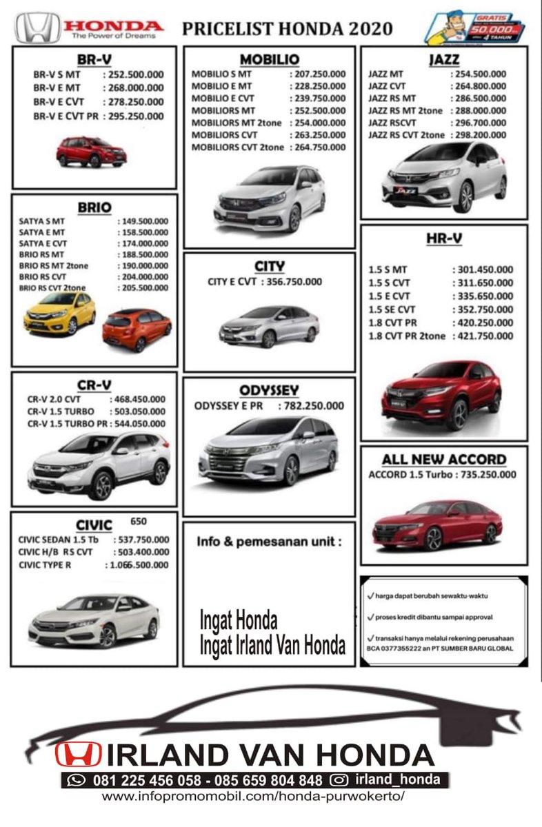 Kekurangan Harga Mobil Honda Review