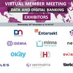 Image for the Tweet beginning: Virtual Member Meeting on #Data