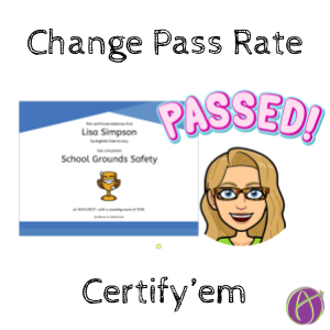 Certify'em Add-on: How to Change the Passing Percentage - alicekeeler.com/2020/11/15/cer…