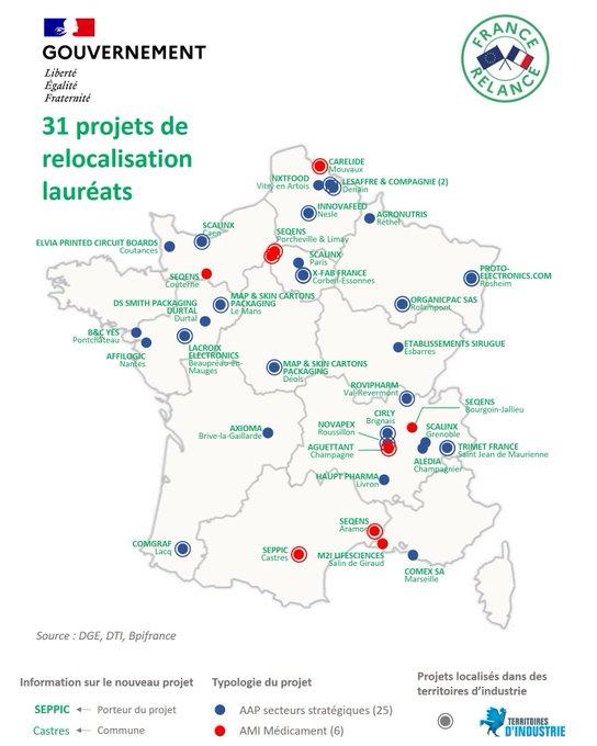 """France Relance et relocalisation : bientôt à Lacq, l'usine """"Alpha Chitin"""" parmi les 31 premiers lauréats"""