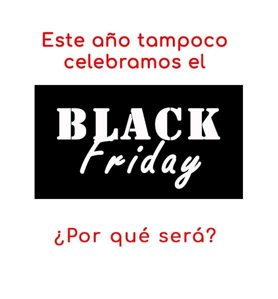Pronto sabréis por qué.  Abajo el #BLACKFRIDAY  Arriba el #RedMonday