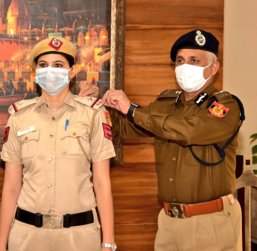 Delhi Police's Seema Dhaka awarded rank of Assistant Sub-Inspector by Police Commissioner, as out-of-turn promotion for tracing 76 missing children