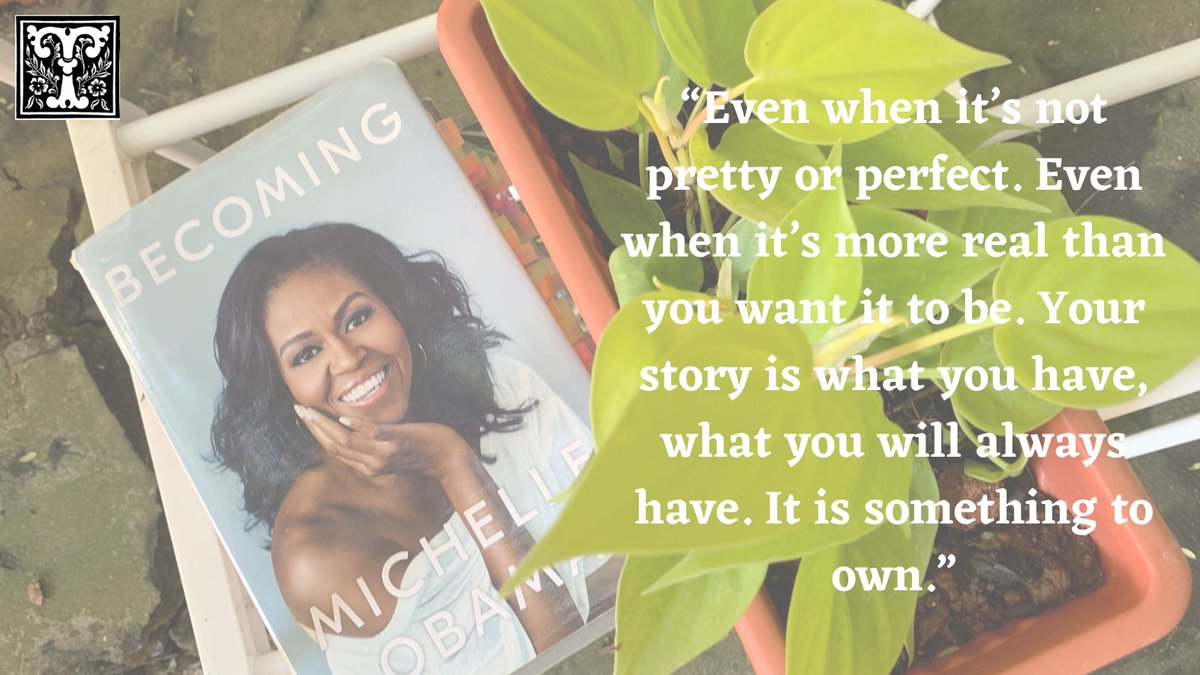 This weekend on The 'T' List we recommend Becoming by Michelle Obama. A book that will help you find your own voice. #womenwhoinspire #insporationalwomen #Iambecoming  @MichelleObama @penguinrandom #BookRecommendations  @BarackObama