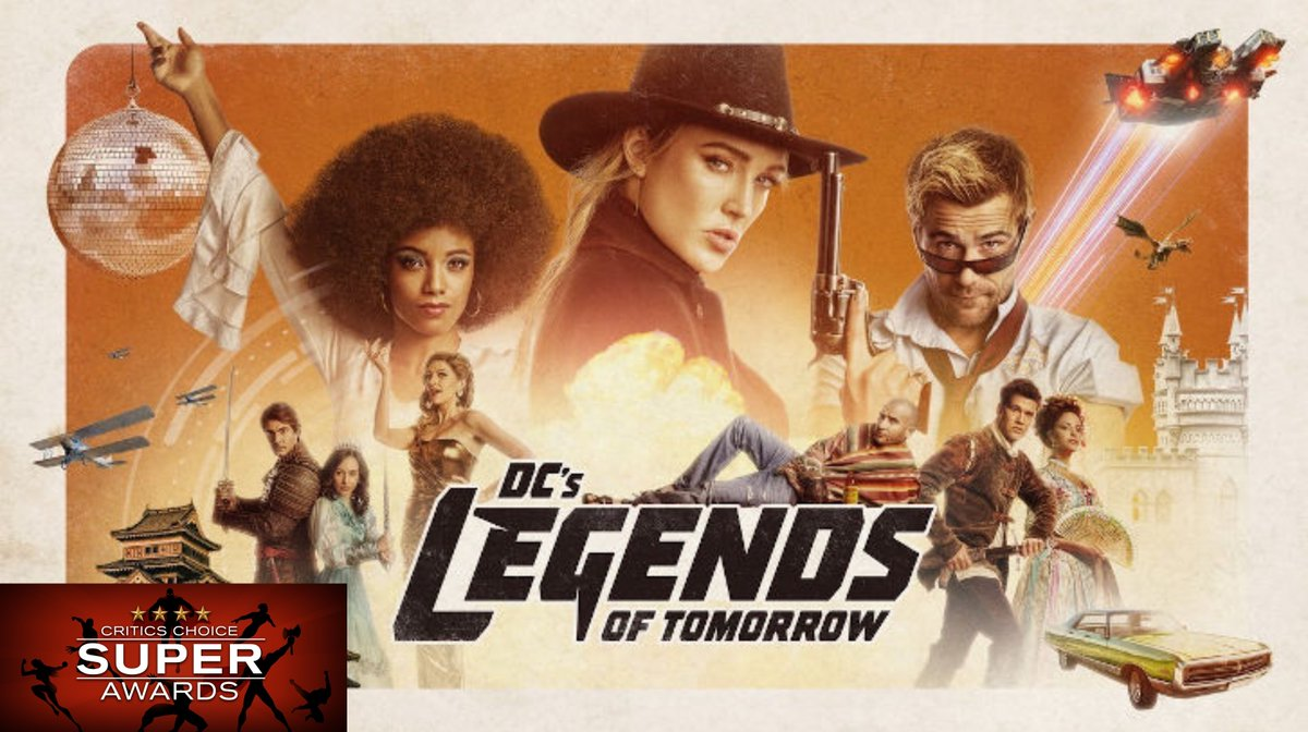 """Congrats to @TheCW_Legends on getting nominated for """"Best Superhero Series"""" at the @CriticsChoice Super Awards!! Winners will be announced Jan. 10 on @TheCW!"""