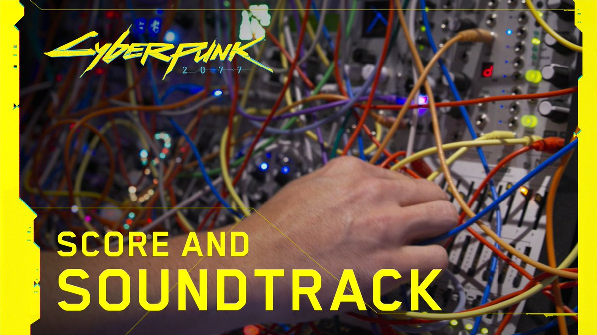 Time for some #Cyberpunk2077 music – listen to our team of composers (@kwazol, @PaulLeonardMorg & @ptadamczyk) shedding some light on the in-game score, radio stations, and the ideas and creatives processes behind them! 📻🎶