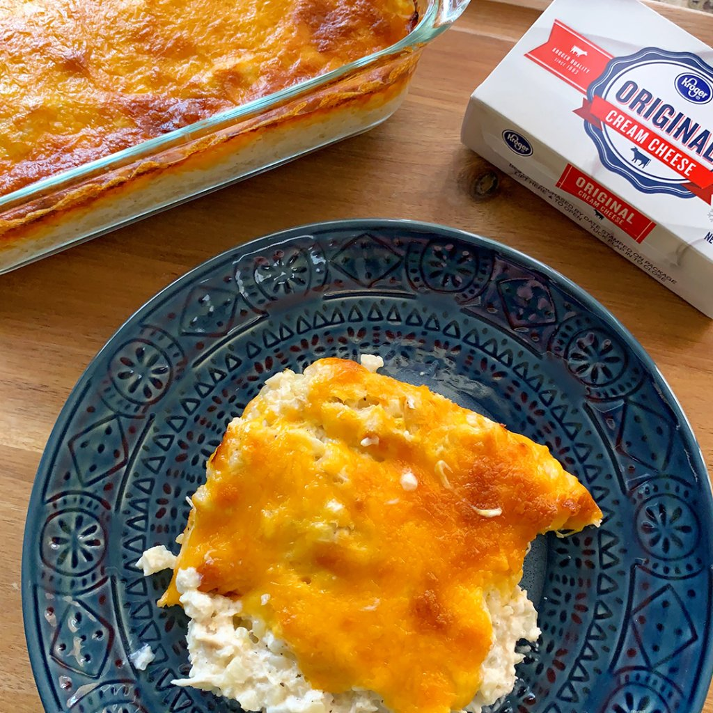 Rachel Greyeyes knows how to spend more time creating tasty recipes than shopping for ingredients. Skip the line and order online. With Kroger's Free Pickup you can be cooking this casserole in no time!
