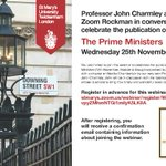 Image for the Tweet beginning: Join @ProfJCharmley in conversation with