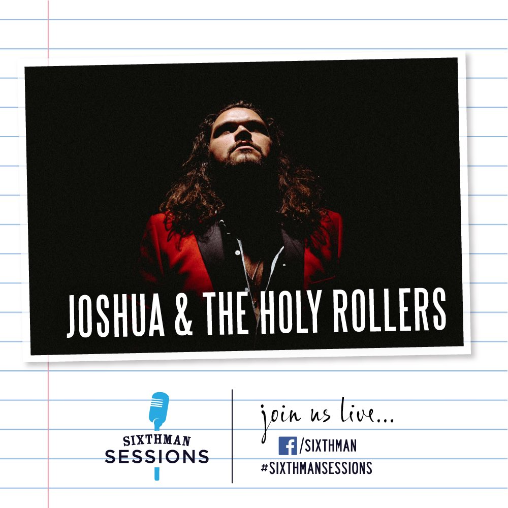 We're delivering a double shot of #SixthmanSessions live music for you today! Tune in to Sixthman for Joshua & The Holy Rollers at 5PM ET and Leah Belle Faser at 6PM ET ❤️🎶 #SXMsessions facebook.com/sixthman/live